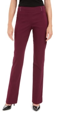 JM Collection Petite Studded Pull-On Pants, Petite & Petite Short, Created for Macy's