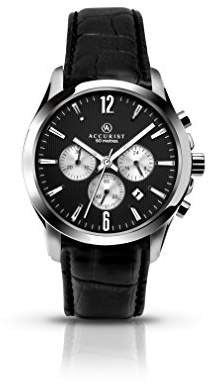 Accurist Mens Chronograph Watch with Leather Strap