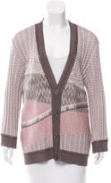 Missoni Patterned V-Neck Cardigan w/ Tags