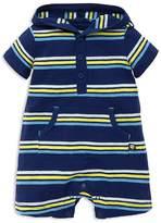 Offspring Boys' Hooded Stripe-Print Shortall - Baby