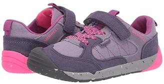 Merrell Bare Steps Alpine Sneaker (Little Kid) (Dusty Purple) Girl's Shoes