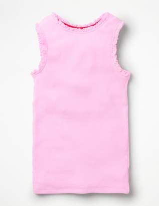 Boden Lace Trim Ribbed Tank