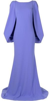 Tadashi Shoji Kairi capelet gown