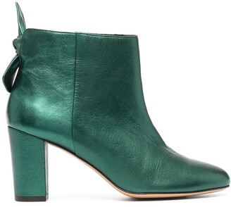 Tila March Bow-Detail Ankle Boots