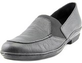 David Tate Stretchy Women Ss Round Toe Leather Black Loafer.