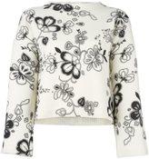 See by Chloe floral print jumper