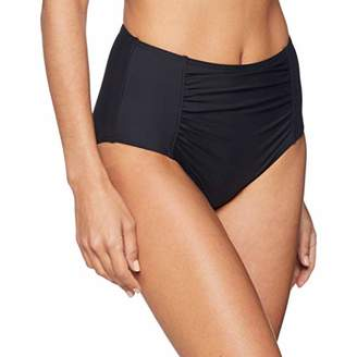Esprit Women's Castle Beach Brief Bikini Bottoms, (Black 001), 12 (Size: )