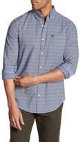 Original Penguin Long Sleeve Gingham Oxford Heritage Slim Fit Shirt