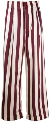 Jejia Striped Wide Leg Trousers