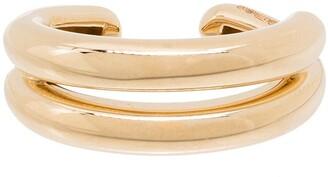 Adina Reyter 9kt Yellow Gold Chunky Ear Cuff
