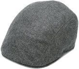 Brunello Cucinelli adjustable flat cap - men - Cotton/Leather/Wool - M
