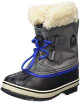 Sorel Unisex Kids Childrens Yoot Pac Nylon Snow Boots, Grey (City Grey 023), 11.5 Child UK 30 EU