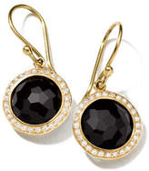 Ippolita 18k Mini Lollipop Earrings with Diamonds