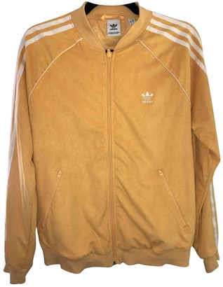 adidas Yellow Suede Jackets