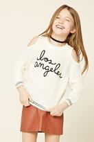 FOREVER 21 girls Girls Los Angeles Sweater (Kids)