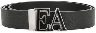 Emporio Armani Logo Buckle Belt