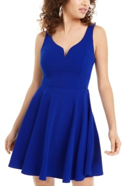B. Darlin Juniors' Sweetheart A-Line Dress