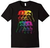 Star Wars Darth Vader Rainbow Darkside Pride Graphic T-Shirt