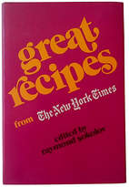 One Kings Lane Vintage Great Recipes from The New York Times