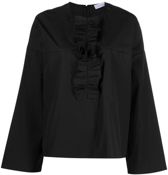 Christian Wijnants Tayla ruffle-trim blouse