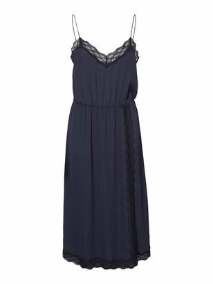 Vero Moda Women's Vmjeanne Singlet Calf Dress WVN