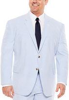 STAFFORD Stafford Seersucker Suit Jacket - Big & Tall