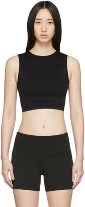 Ernest Leoty Black Seamless Sophie Crop Top