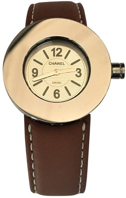 Chanel Ronde Camel Steel Watches