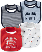 Carter's Baby Boys' 4-Pack Little All-Star Sports Teething Bibs