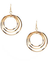 Dillard's Tailored Triple Hoop Earrings