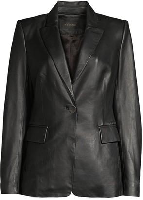 Kobi Halperin Avery Leather Blazer