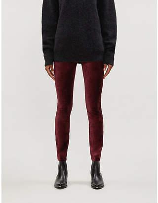 Paige Verdugo ultra-skinny velvet jeans