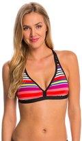 Jag Swimwear Reactive Stripe Convertible Back Bikini Top 8146628