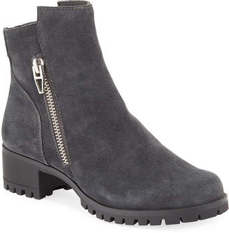 Dolce Vita Pavia Suede Zip Ankle Booties