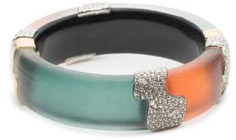Alexis Bittar Crystal Encrusted Colorblock Bracelet