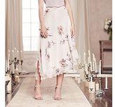 Lauren Conrad Runway Collection Asymmetrical Floral Skirt - Women's