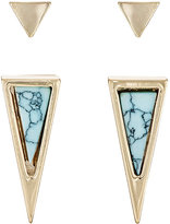 Jules Smith Designs WOMEN'S TRIANGULAR STUD EARRING SET