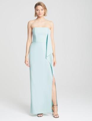Halston Draped Cape Gown