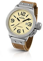 TW Steel Men's CS16 Analog Display Quartz Brown Watch