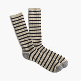 J.Crew Italian cashmere striped socks