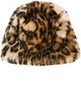Faliero Sarti leopard print beanie