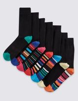 Marks and Spencer 7 Pairs of FreshfeetTM Cotton Rich Socks