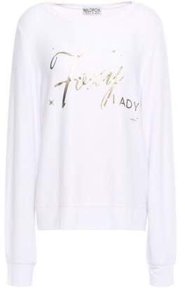 Wildfox Couture Brushed Stretch-jersey Top