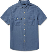 Alex Mill - Roadhouse Slim-fit Cotton-dobby Shirt