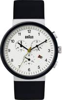 Braun Men's BN0035WHSLBKG Classic Chronograph Analog Display Quartz Watch