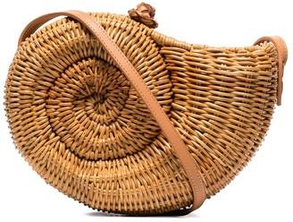 Aranaz Raffia Shoulder Bag