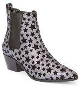 Saint Laurent Glitter Star Rock Chelsea Booties