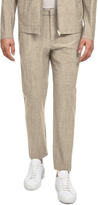 Theory Men's Zaine Delor Slim-Straight Suit Pants