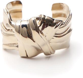 Saint Laurent Bow Cuff Bracelet