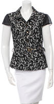 Class Roberto Cavalli Lace Button-Up Top w/ Tags